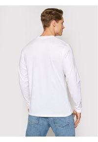 Pepe Jeans Longsleeve Eggo Long PM501321 Biały Regular Fit. Kolor: biały. Długość rękawa: długi rękaw