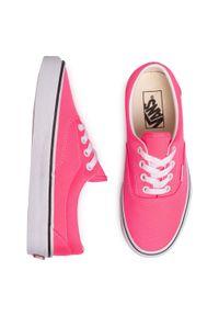 Różowe buty sportowe Vans Vans Era, z cholewką