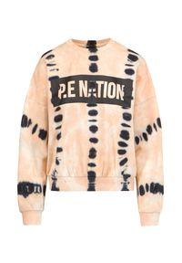 Beżowa bluza PE Nation z nadrukiem