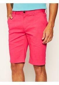 Różowe szorty Tommy Jeans