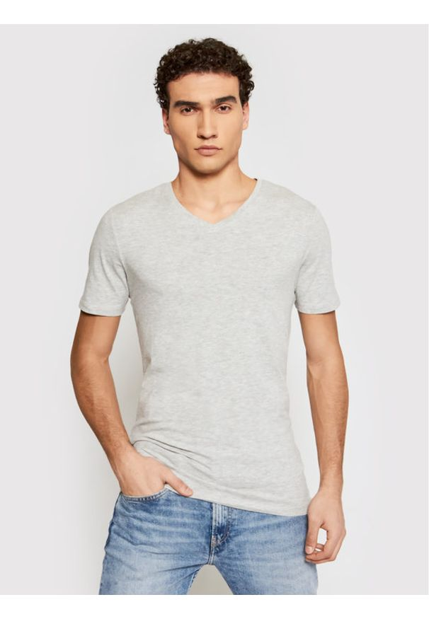 Only & Sons - ONLY & SONS T-Shirt Basic 22020799 Szary Slim Fit. Kolor: szary