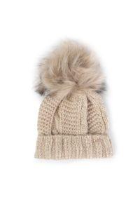 Beżowa czapka Mayoral