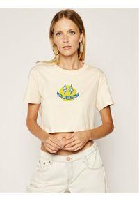 Guess T-Shirt J BALVIN W0FI0W R9XF0 Beżowy Regular Fit. Kolor: beżowy