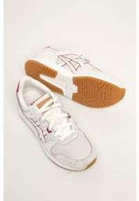 Kremowe buty sportowe Asics Tiger na średnim obcasie, Asics Tiger