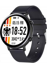 Smartwatch Bakeeley GW33 Czarny. Rodzaj zegarka: smartwatch. Kolor: czarny