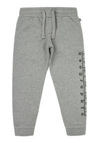 Szare spodnie dresowe Napapijri