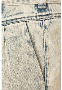 Niebieskie szorty Vero Moda casualowe, na co dzień, gładkie