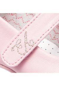 Emporio Armani Półbuty XKD002 XON02 00550 Różowy. Kolor: różowy