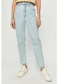 Niebieskie jeansy GAP z podwyższonym stanem