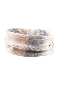 Beżowy szalik outhorn melanż, na zimę