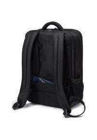 Czarny plecak na laptopa DICOTA w kolorowe wzory
