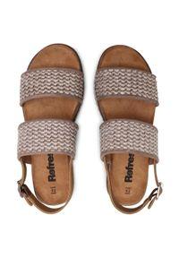Beżowe sandały Refresh