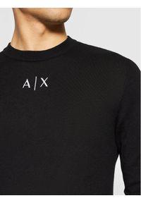 Armani Exchange Sweter 6KZM1H ZMW8Z 1200 Czarny Regular Fit. Kolor: czarny