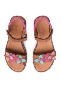 Brązowe sandały Froddo z aplikacjami, na lato #7