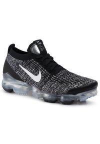 Czarne półbuty Nike z cholewką, eleganckie, na co dzień