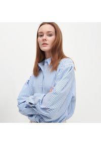 Reserved - Koszula z bawełną organiczną - Wielobarwny. Materiał: bawełna