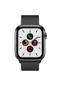 Czarny zegarek APPLE casualowy