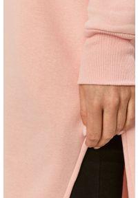 Answear Lab - Bluza. Typ kołnierza: kaptur. Kolor: różowy. Długość: długie. Styl: wakacyjny