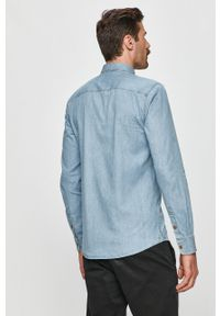 Niebieska koszula Only & Sons casualowa, na co dzień, button down, długa #7
