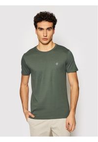Marc O'Polo T-Shirt B21 2220 51068 Zielony Regular Fit. Typ kołnierza: polo. Kolor: zielony