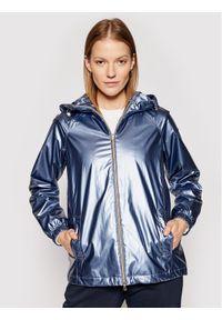 Niebieska kurtka przejściowa Geox