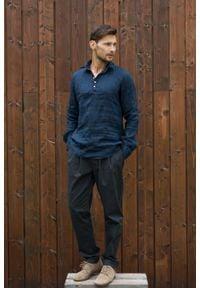 VEVA - Spodnie męskie Cozy Whisper grafitowe. Okazja: na co dzień. Kolor: szary, biały. Materiał: materiał. Długość rękawa: krótki rękaw. Wzór: aplikacja. Styl: casual