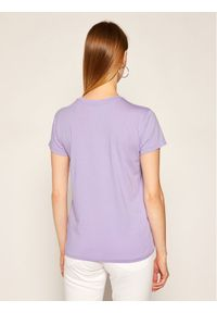 Fioletowy t-shirt Polo Ralph Lauren polo