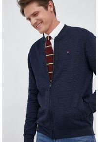 TOMMY HILFIGER - Tommy Hilfiger - Bluza. Okazja: na co dzień. Kolor: niebieski. Materiał: dzianina. Wzór: gładki. Styl: casual