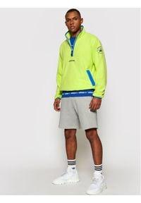 Adidas - adidas Polar Adv Hz Fleece GN2379 Żółty Regular Fit. Kolor: żółty. Materiał: polar