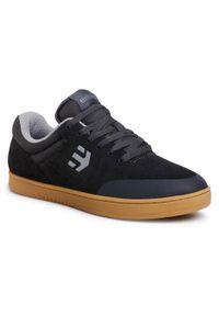 Czarne sneakersy Etnies na co dzień, z cholewką