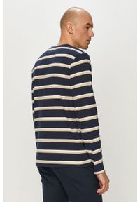 Niebieska koszulka z długim rękawem Pepe Jeans z długim rękawem, na co dzień