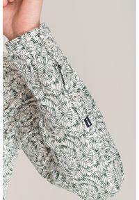 Zielona koszula JOOP! Jeans na lato, na spotkanie biznesowe, biznesowa