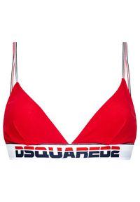Czerwony biustonosz braletka Dsquared2 Underwear
