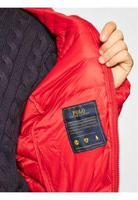 Czerwona kurtka puchowa Polo Ralph Lauren polo #6
