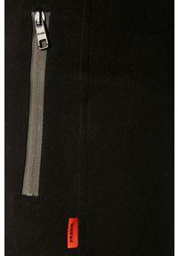 Czarne spodnie dresowe John Frank
