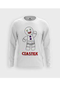 MegaKoszulki - Koszulka męska z dł. rękawem Ciastek. Materiał: bawełna