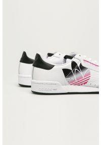 adidas Originals - Buty skórzane Continental 80. Nosek buta: okrągły. Zapięcie: sznurówki. Kolor: biały. Materiał: skóra