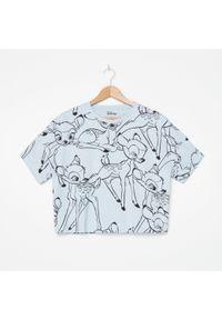 Niebieski t-shirt House krótki #1