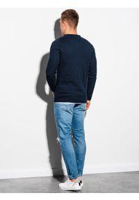 Niebieski sweter Ombre Clothing na co dzień, klasyczny