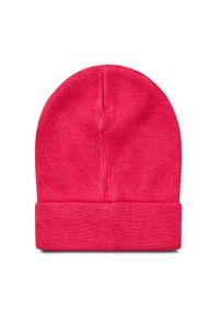 Różowa czapka zimowa Guess #3