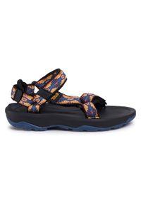 Czarne sandały Teva na lato