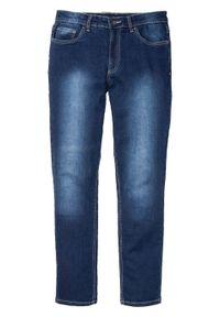 Dżinsy ze stretchem Slim Fit Straight bonprix Dżinsy ze str SL n.st 32. Kolor: niebieski