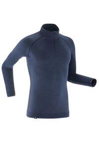 INOVIK - Koszulka termoaktywna do narciarstwa biegowego męska Inovik XC S 500 merynos. Materiał: poliamid, materiał, wełna. Wzór: ze splotem. Sport: narciarstwo