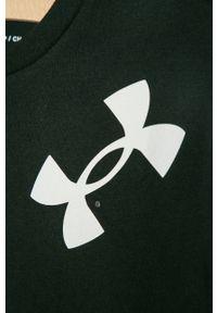Czarna koszulka z długim rękawem Under Armour casualowa, na co dzień