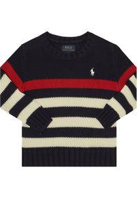 Niebieski sweter Polo Ralph Lauren polo