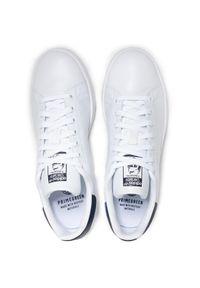 Białe buty sportowe Adidas na lato, na sznurówki