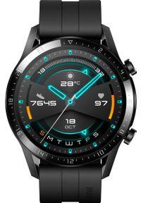 Czarny zegarek HUAWEI sportowy, smartwatch