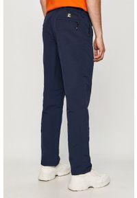 Niebieskie spodnie Vans na co dzień, casualowe