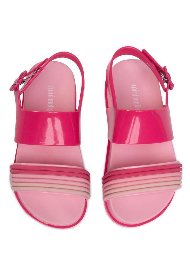 Różowe sandały Mel By Melissa