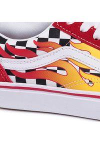 Vans Tenisówki Comfycush Old Sko Czerwony. Kolor: czerwony #4